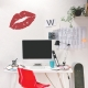 KIss Mark Wall Decal