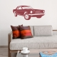Classic Mustang Wall Decal