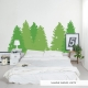 Pine Trees Wall Decal
