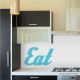 Retro EAT Wall Decal