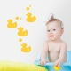 Rubber Duckies Wall Decal