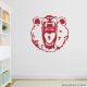 Scary Bear Wall Decal