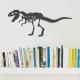 T-Rex Skeleton Wall Art Decal