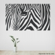 Zebratangle Black Wall Decal