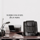 Be a Man Wall Quote Decal