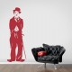 Charlie Chaplin Wall Art Decal