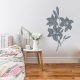Lilies Storm Grey Wall Decal