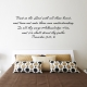 Trust in the Lord Wall Quote Decal