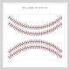 Baseball Stitches Kit