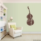 Bass Brown Wall Decal