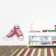 Converse Sneakers Wall Decal