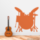Drumset Wall Decal