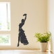 Female Tango Dancer Wall Decal