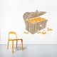 Treasure Chest Wall Decal
