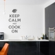 Keep Calm and Cook On wall decal