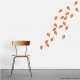 Wall Decal Leaves - Set Nine