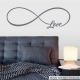 Love Forever Wall Quote Decal