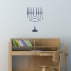 Menorah Wall Decal