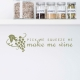PIck Me, Squeeze Me Wall Decal Quote