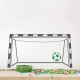 Soccer Goal Wall Decal
