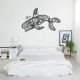 Tribal Pacific Orca Wall Decal