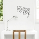 One Small Step Wall Quote Decal