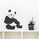 Panda Eating Bamboo Wall Decal
