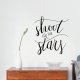Shoot For The Stars Wall Quote Decal