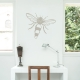 Wasp Warm Grey Wall Decal