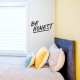 Be Honest Wall Quote Decal Gold