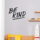 Be Kind Wall Quote Decal