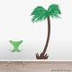 Feather Palm Tree Wall Decal | Wallums