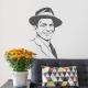 Frank Sinatra Wall Decal