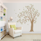 Wavy Windy Tree Wall Decal