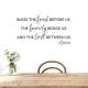 Love Between Us Wall Quote Decal