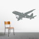 Airliner Airplane Wall Decal