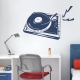 DJ Turntable Wall Decal