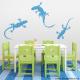 Gecko Lizards Wall Decal