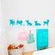 Puppies Playing Wall Decal