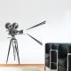 Retro Film Camera Wall Decal