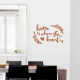 Where The Heart Is Wall Decal